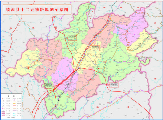 绩溪十二五铁路规划图