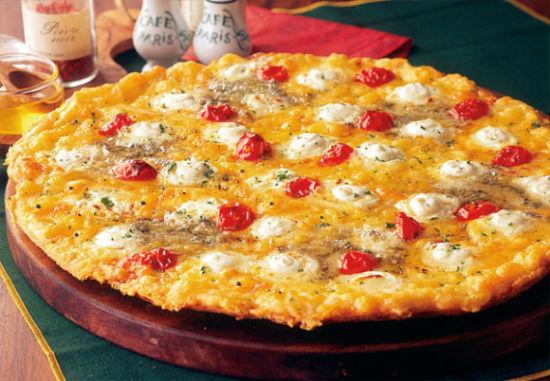 蜂蜜奶酪披萨