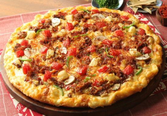 土豆片披萨的做法大全图解