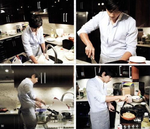 女人觉得男人做菜时很有魅力