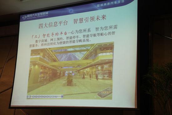南翔汽车智慧新城四大信息平台展示