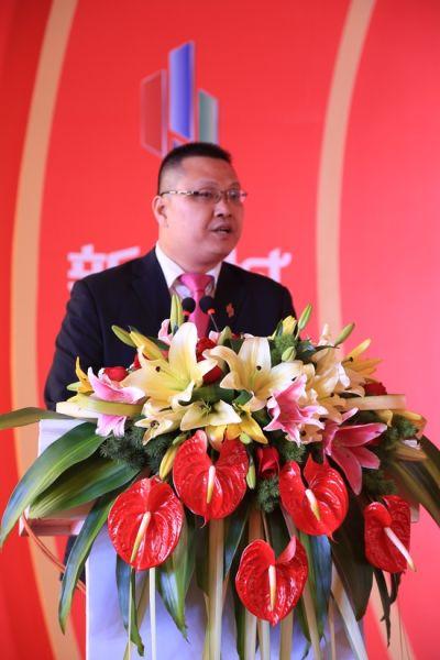 安徽金大地商业管理有限公司安庆第一分公司招商营运副总罗涛致辞