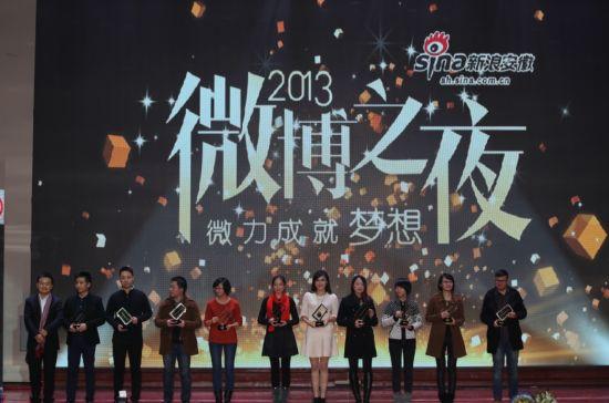 2013年度安徽品牌价值企业微博