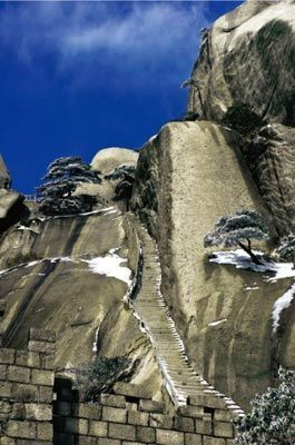 天柱山奇石异态 天柱山奇石异态