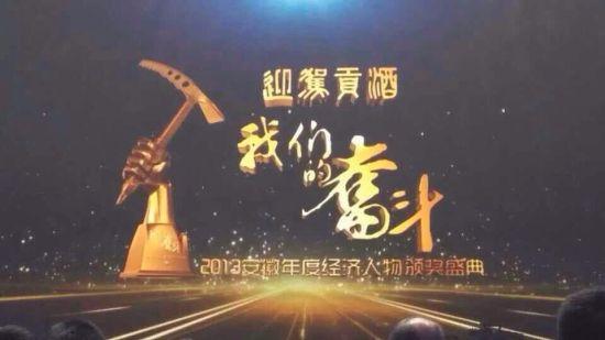 2013安徽年度经济人物颁奖盛典主画面