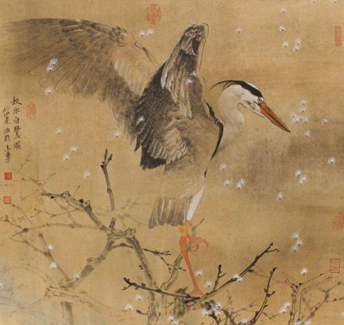 雾释冰融•吴冰花鸟画展在哈尔滨开幕