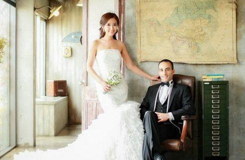 张茆婚纱照