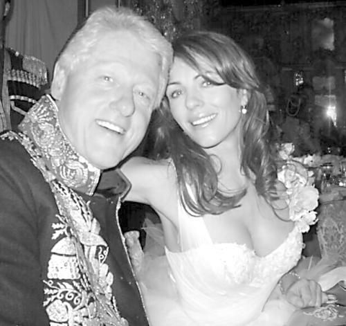 女星与克林顿偷情曝光 初识当晚做爱6次