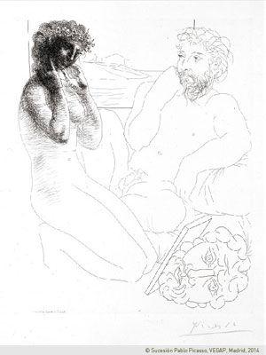 巅峰之作——毕加索的沃拉尔版画