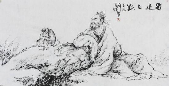脑瘫画家刘超作品展在京展出