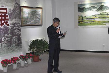 程振铎画展在中国人民解放军国防大学盛大开幕