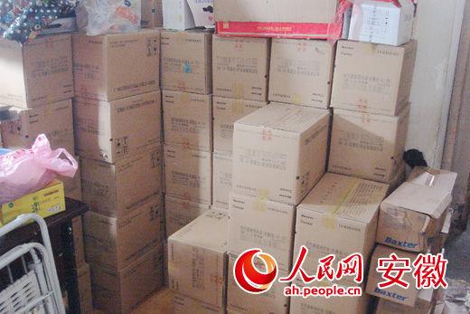 警方在李某家中查获大量非法回收药品