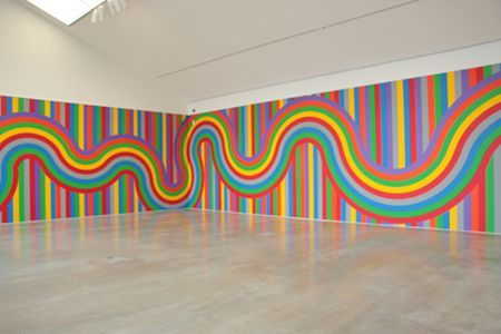 艺术家的房间——SolLeWitt的墙上绘画