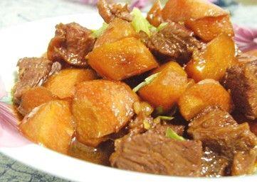 牛肉 胡萝卜