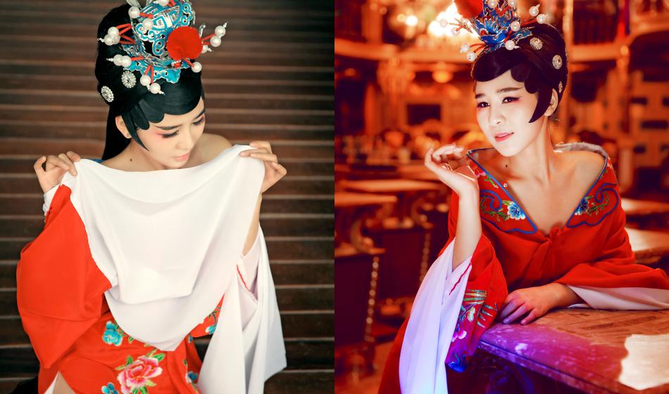 微潮人古装特刊:美女化妆师的古装情结