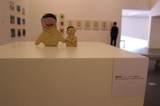 中间美术馆举办自闭症儿童画展