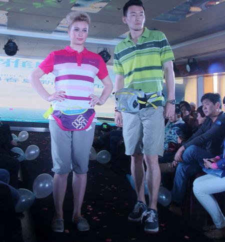时尚的运动风展示