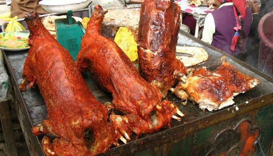 内蒙古烤全羊