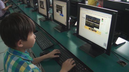 小学生v速度速度堪比小学打字员深圳专业天祥图片
