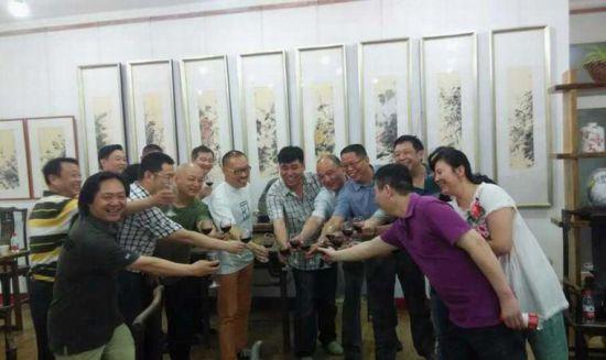 师行坤精品花鸟画鉴赏活动在郑州举行