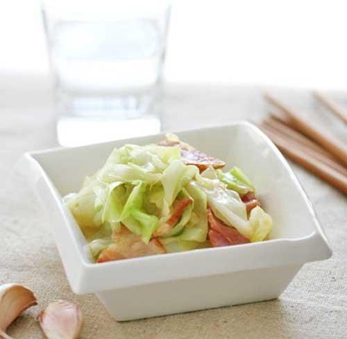 培根圆白菜