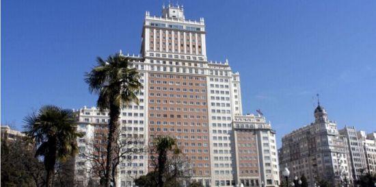 """马德里地标""""西班牙大厦"""""""