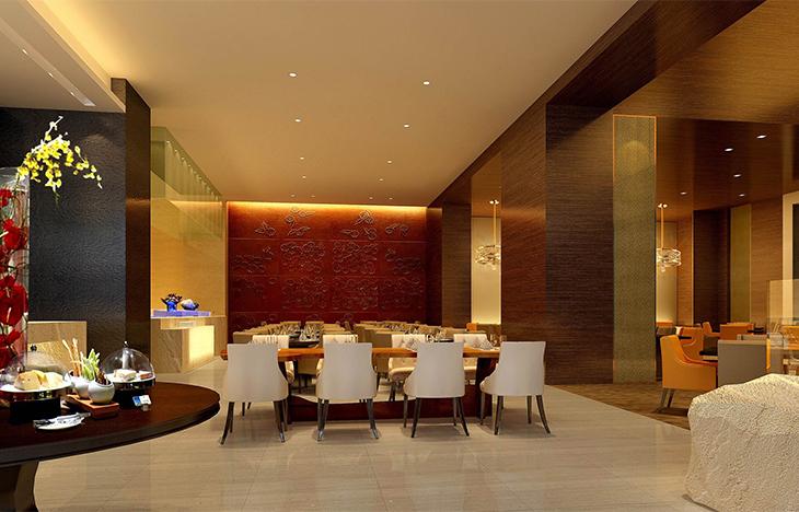 一层全日餐厅用餐区