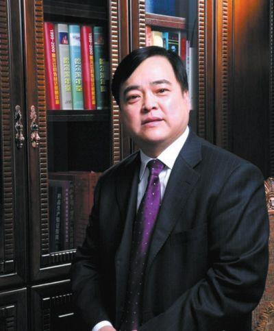 """前""""三精制药""""董事长兼总经理刘占滨。资料图片"""