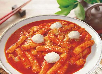 韩式炒米条