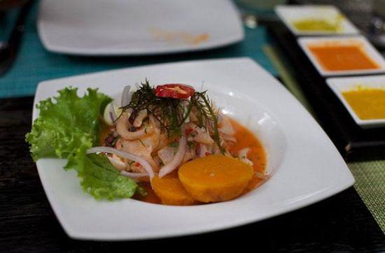 酸橘汁腌鱼