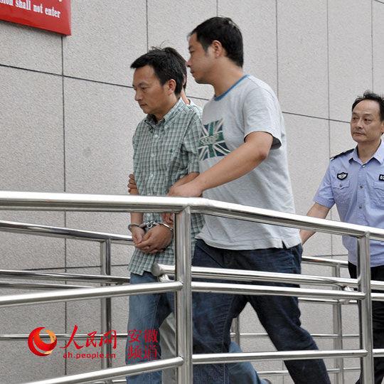 刘克胜被押解回桐城