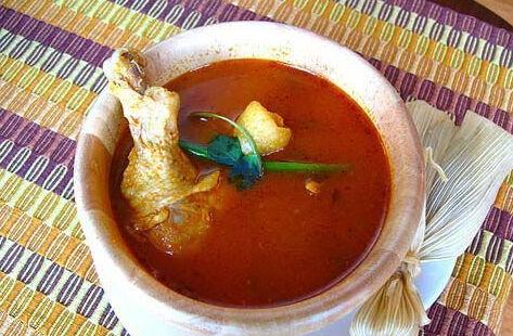 危地马拉的火鸡汤