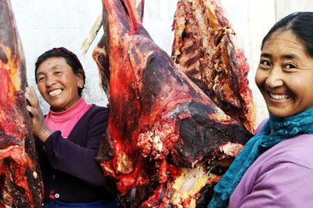 肉:菩萨给农牧民的馈赠品