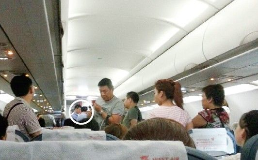 因换座纠纷两名乘客飞机上打架