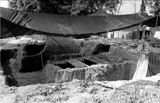 宣城发现的古墓