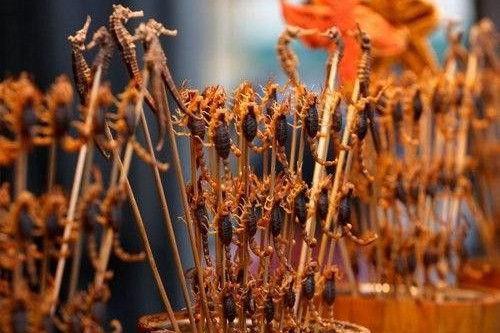 炸蝎子(Fried Scorpion) 中国