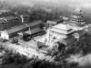 感恩寺庙效果图