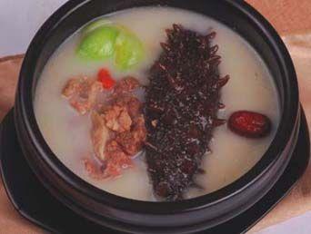 海参杞参汤