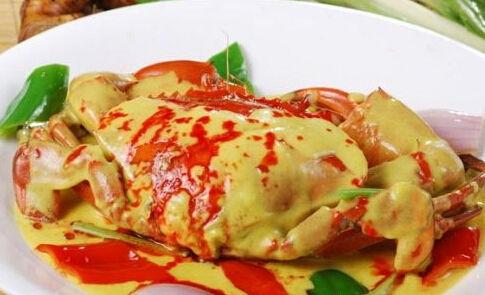 霸气泰国 咖喱蟹