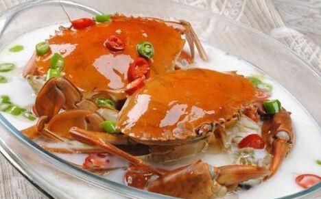 轻食日本 清汤涮蟹