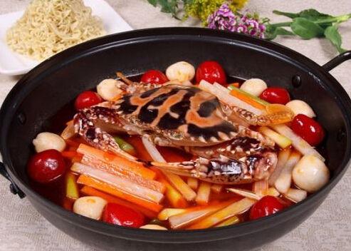 鲜辣韩国 泡菜蒸花蟹