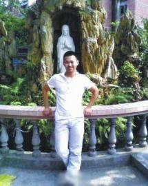 失联广元籍学生杨佳锦。(图据网络)