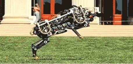 """图为奔跑机器人""""猎豹""""。"""