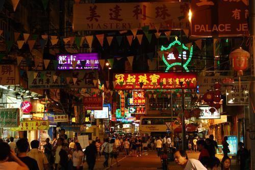 香港的庙街