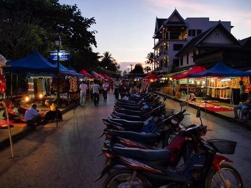 老挝的琅勃拉邦