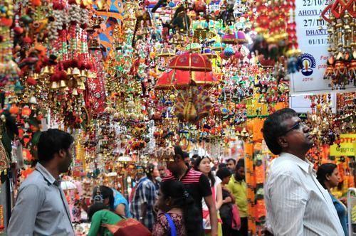 新加坡小印度的竹脚市场