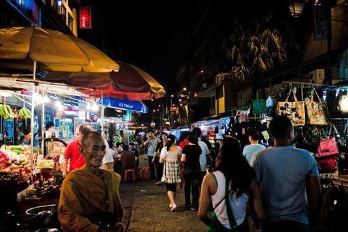 马来西亚吉隆坡的茨厂街(