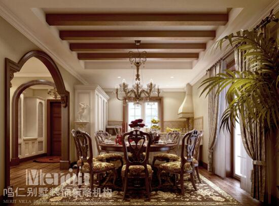 如今的别墅装修市场,越来越细分,不同的装修风格,表达了不同的生活追求。下面笔者为大家带来一套纯美精致美式大宅。 此套案例为美式乡村的别墅装修风格,由北京鸣仁别墅装修机构提供。此项目在设计上追求尊贵、自然、舒适,古典大气的装饰花样打造出独具特色的美式奢华;讲究的家具摆放、复杂的造型、丰富的布艺装饰、具有古典风格的水晶吊灯,彰显了雍容华贵的品质生活!