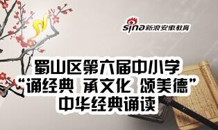 蜀山区第六届中小学中华经典诵读展演
