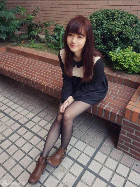 台湾校园美女生活照